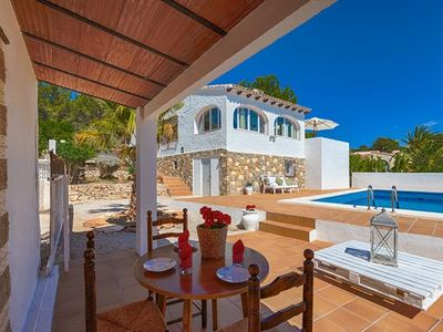 Photo for 3 bedroom Villa, sleeps 6 in La Fustera with Pool and WiFi