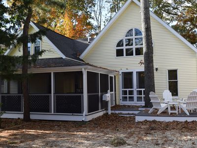 Photo for Pet Friendly! Adorable cottage nestled in the exqusite area of THE PINES!