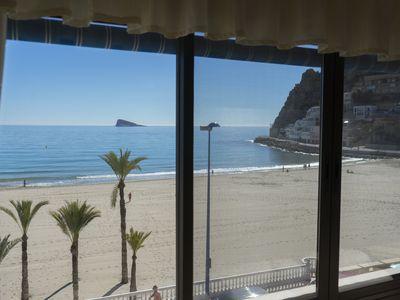 Photo for Casa Blanca 4, apartment on the beach with fantastic views