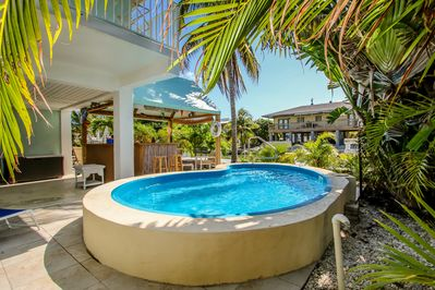 Pure paradise with our pool. Umbrella for afternoon shade provided