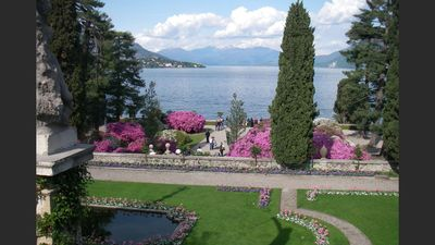 Photo for Lake Maggiore, apartment sleeps 5 recently renovated in village house.