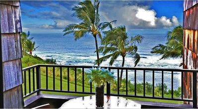 Photo for Waterfront 2BR Princeville Condo w/Community Pool!