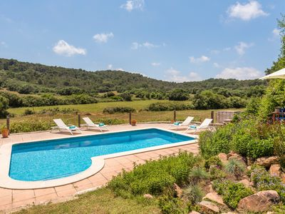 Photo for Historic Finca Biniarroga Nou with private pool