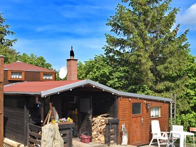 Photo for Small holiday home in the Harz with terrace and use of the wellness area