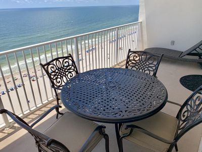 Photo for Breathtaking Ocean Views from the Balcony of this Lighthouse Condo on the 16th Floor!