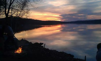 Photo for 2BR Cottage Vacation Rental in Maple City, Michigan