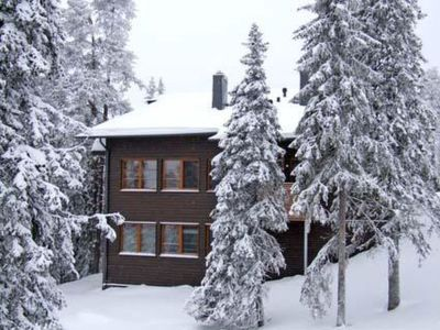 Photo for Vacation home Karhunvartijan pirtti a5 in Kuusamo - 6 persons, 1 bedrooms