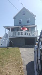 Photo for Wells Beach Oceanfront fully renovated beach house