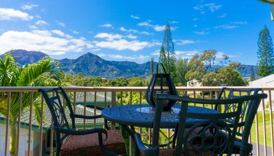 Photo for Villas of Kamalii 44-Comfort and luxury with spectacular mountain and waterfall views!