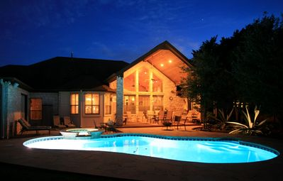 Photo for Austin Hill Country Chateau - Private Luxury Suite w/ Pool. 12 min to Downtown