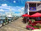 The board walk....steps away from your private Front Street entrance. .