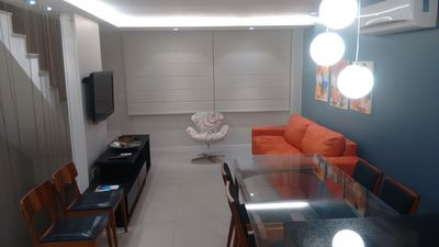 Photo for Apartment Triplex Finely Decorated Oceanico Garden in Barra da Tijuca