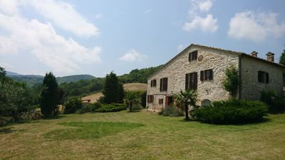 Photo for Lovingly restored natural stone country house