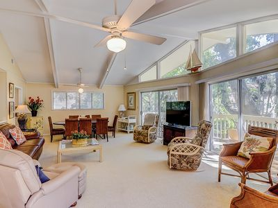 Photo for North Forest Beach home w/ large deck, three houses back from the beach!