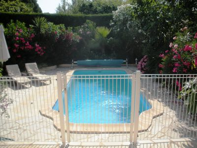 Photo for St. Tropez - Cogolin Family House with private pool with child security gate