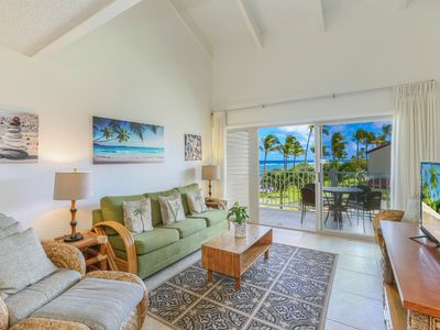 Photo for Kapaa Shore Resort #324, Ocean View, Washer/Dryer, Great Location and Views!