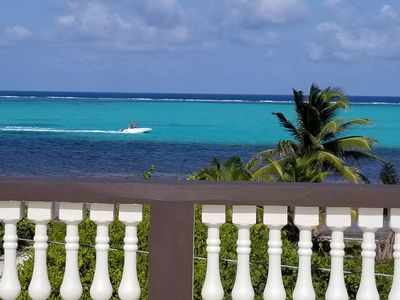 Photo for Villa Tortuga Belize - Vacation in Paradise - Amazing Caribbean Sea Views