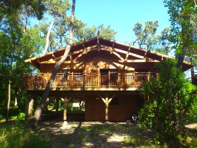 Photo for Luxury Wooden House 44 hectares in Cap-Ferret
