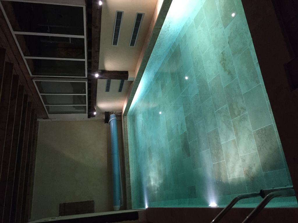 Real heated indoor pool, SPA, fitness room, groups possibility