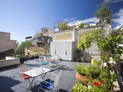 Photo for Lovely house in Athens centre with roof garden!