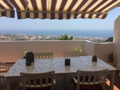 Photo for Amazing views and rest. New, big terrace and pool