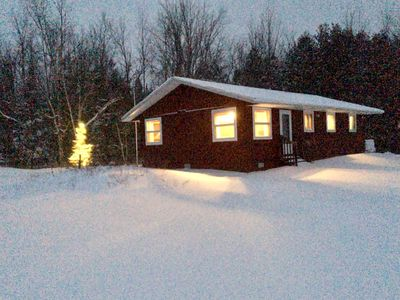 Photo for Secluded acreage near Crystal Mountain and Sleeping Bear dunes!