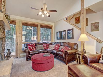 Photo for Magnificent 4 Bedroom Townhome! Private Garage, Pool and Hot Tub, On the Shuttle Route!
