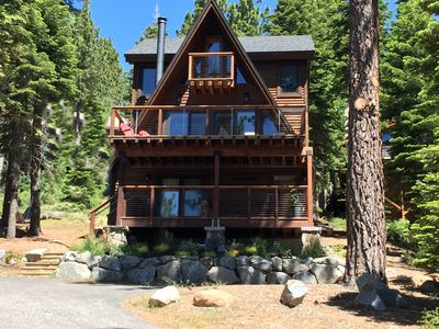 Photo for New, Beautiful Lake Views, Luxury, Modern Mountain Home, Sleeps 10
