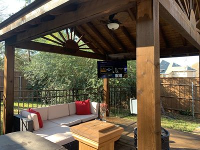 Photo for Backyard Family Oasis With Heated Saltwater Pool, Hot Tub, Game Room, and More!