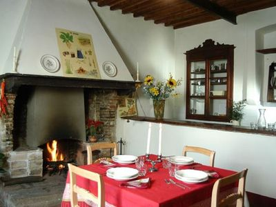 Photo for Il Fattore Apartment - Tenuta Scacciavolpe Farmhouse