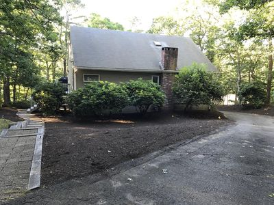 Photo for Private beach on Sheep Pond & bike path 5 BR with AC perfect for large groups
