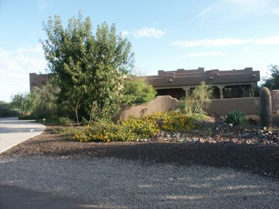 Photo for Huge Ranch Style 4 Bedroom Home with Incredible Interior, Pool, and Big Patios!