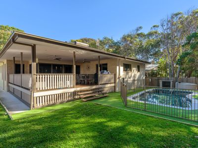 Photo for 7 Ibis Court - Spacious family home with large outdoor area, swimming pool & ample parking