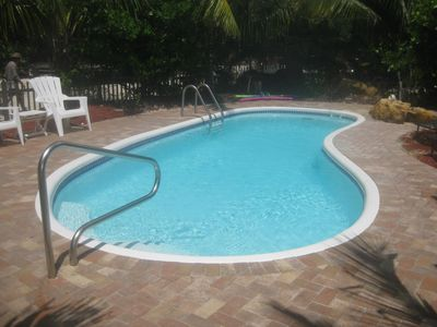 Photo for SPCL FALL RATES __THREE LOTS WITH POOL AND DOCK!! SECLUDED LOWER KEYS RETREAT