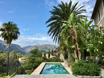 Photo for Villa in Fornalutx with guest cottage, pool, parking & citrus orchard.