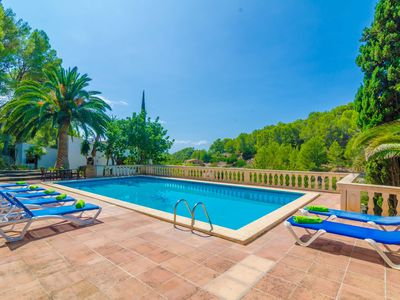 Photo for CAN BOLEI - Villa with private pool in Sant Elm.