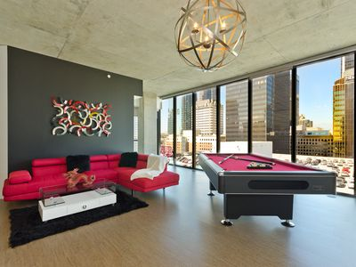 Photo for URBAN DTLA VIP PENTHOUSE WITH POOL TABLE 3BR/3BA