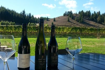 enjoy tasting award winning wines with your hosts