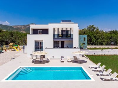 Photo for NEW!Villa Marijeta exclusive 5 star villa with 50sqm private pool and 6 bedrooms