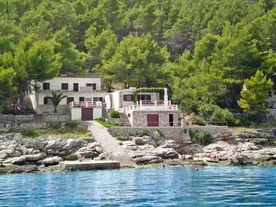 Photo for Vacation home Haus Dina (HVR500) in Hvar/Kalober - 8 persons, 3 bedrooms