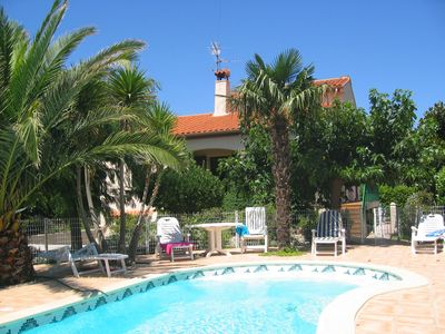 Photo for 4 Bedroom Villa with pool in Mediterranean Pyrenees