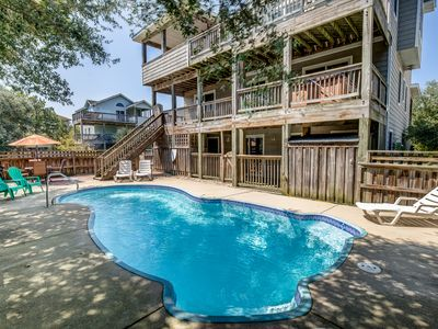 Photo for Wine Down | 1830 ft from the Beach | Private Pool, Hot Tub