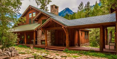 Photo for Private and Peaceful, Streamside, Mtn Views, Family Friendly, Separate Guest Room