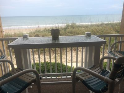 Photo for Last minute discount for last week in July. Great oceanfront condo!