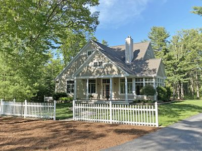 Photo for Beautiful home in Glen Arbor, just feet from Lake Michigan! Acc: 10