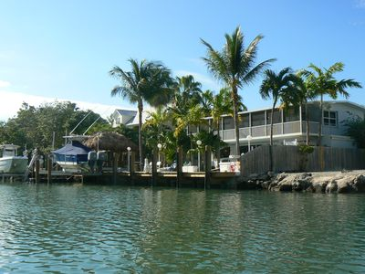 Photo for Watersports Heaven, Heated Pool With Large Deck & Tiki Hut, 75' Dock