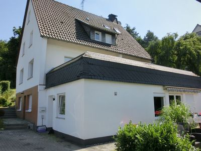 Photo for Holiday home in Sauerland - quiet setting, private entrance, terrace, garden