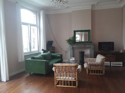 Photo for Cozy and light 60m2 apartment in trendy neighbourhood