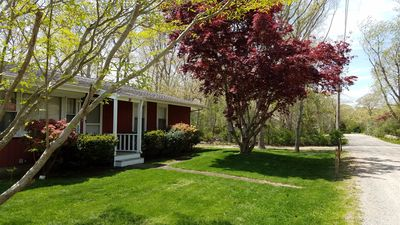 Photo for Oak Bluffs home close to town and beaches!