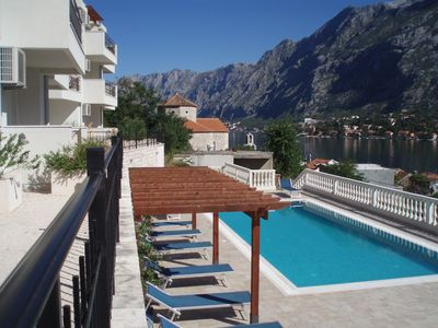 Photo for Pool, gardens, spectacular views!